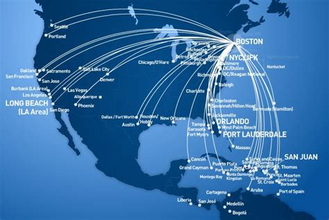 jetblue route map jetblue book our flights save low fares offers more