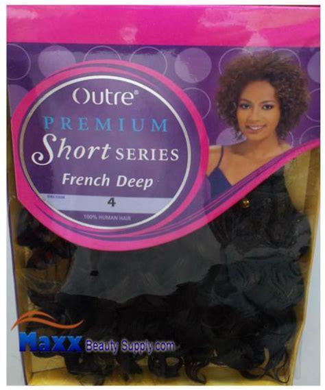 outre premium short series human hair weave angel wave 8s outre premium short series human hair weave french deep