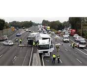 All Lanes Are Closed After An Accident On The M4 Photo Janie Barrett