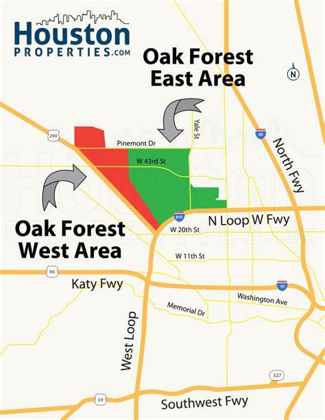 sections of houston oak forest houston homes real estate neighborhood