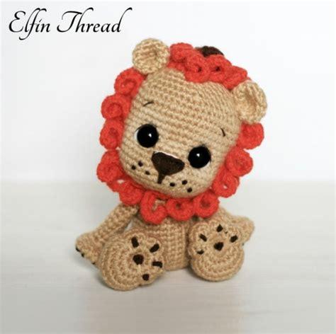 free crochet pattern amigurumi lion leander the chibi lion amigurumi pattern