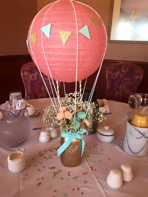 19 Paper Lantern D 233 Cor Ideas For Baby Showers Shelterness Air Balloon Table Centerpieces