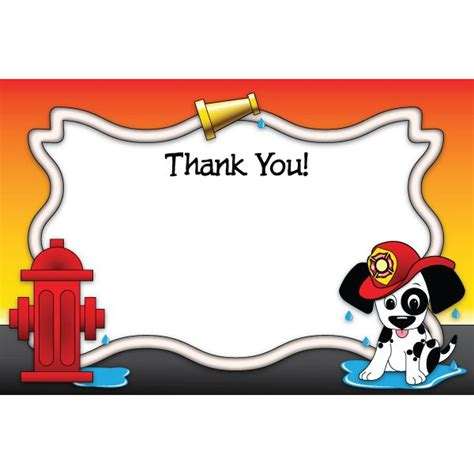 printable thank you cards for firefighters 7 best thank you cards images on pinterest fire fighters