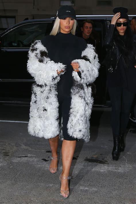 whats new with kim kardashian 2016 kim kardashian out in new york city ny 2 12 2016