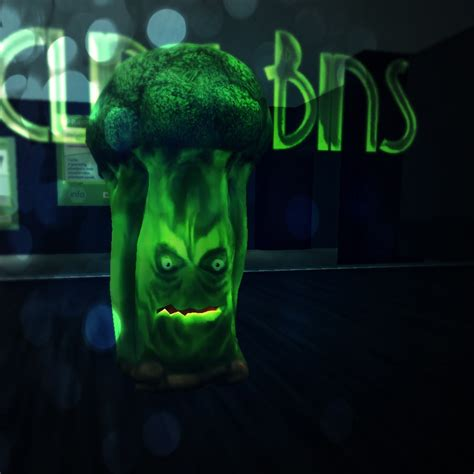 Special Edition Broccoli we are working on a limited edition evil broccoli plantpet and a mission the mission