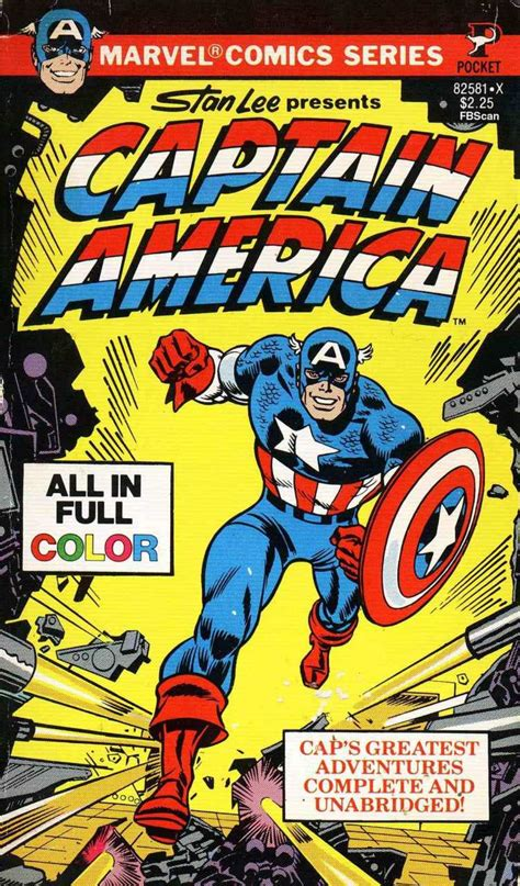 marvel comics pocket series 1 captain america issue