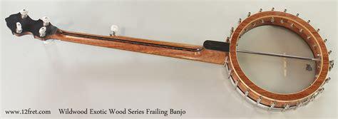 wildwood woodworking wildwood wood series frailing banjo www 12fret