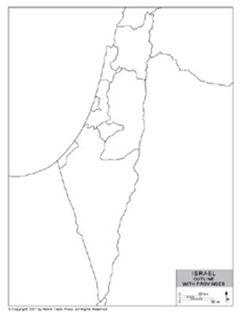 map of israel to color images frompo 1