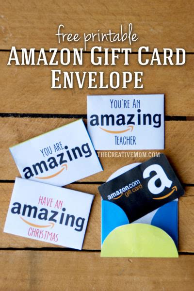 how do printable amazon gift cards work amazon gift card envelopes free printable download the
