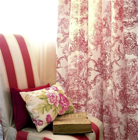 french country toile curtains red toile french country curtains christophe living
