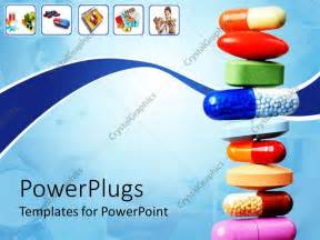 free pharmaceutical powerpoint templates powerpoint template stack of various pills and capsules