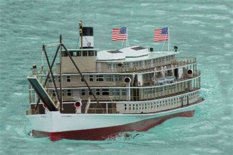 rc boats victoria victoria stern paddlewheel riverboat rc steam kit
