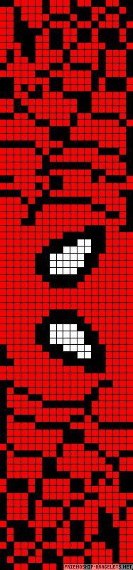 spiderman alpha pattern a34463 friendship bracelets net