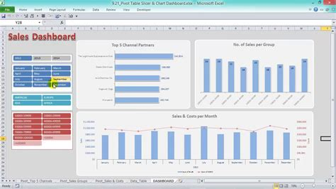 pivot tables 2016 excel pivot tables charts dashboards excel 2016 2013