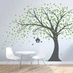 Nursery Tree Wall Stickers trees and flower wall decals you ll love wayfair