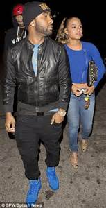 love don t cost a thing tattoo christina milian flashes her tattoo on a date night with
