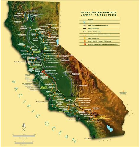 california map project california state water project will deliver the most water