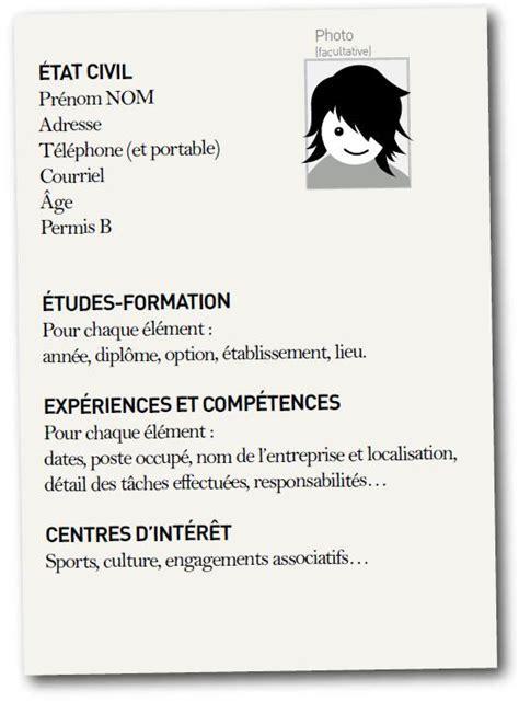 modele cv etudiant sans experience professionnelle 224