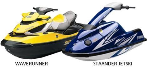 waterscooter vaarbewijs jetski varen jetski varen