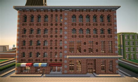 amazing small brick apartment building new york brick buildings on world of keralis minecraft