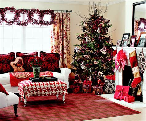 christmas decorated rooms 25 christmas living room design ideas