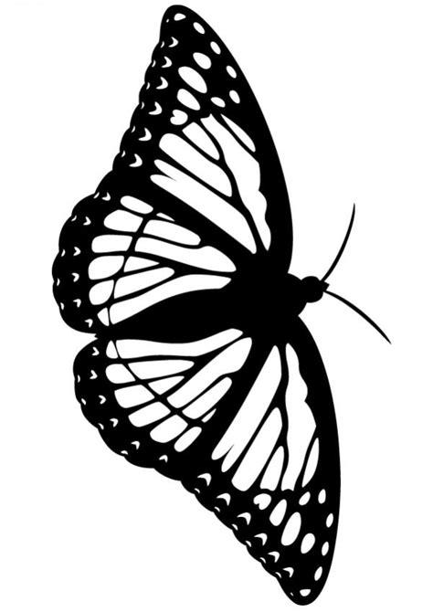 imagenes de mariposas monarcas para colorear dibujos para colorear una mariposa es hellokids com