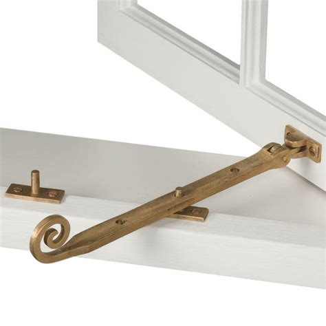 Window Hardware solid bronze curly casement window latch hardware