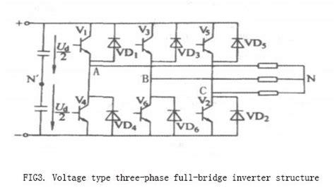3 phase inverter circuit diagram 3 phase inverter wiring diagram efcaviation
