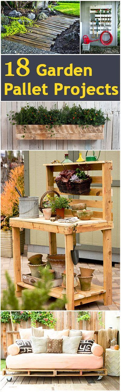 Pallet Furniture Diy Crafts Directory Of Free Projects 18 Garden Pallet Projects Garden Pallet Pallet Projects And Pallets