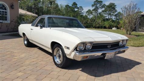 Search Numbers California 1968 El Camino Ss 396 Matching Numbers California Farm Find Chevelle