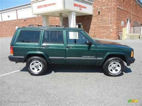 forest green pearlcoat 2001 jeep sport exterior photo 71587080 gtcarlot