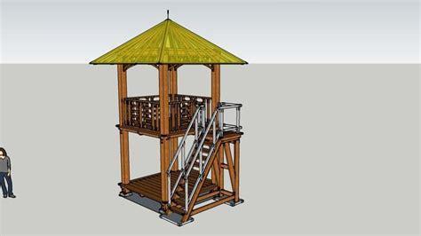 gazebo warehouse gazebo tingkat 2 5 x 2 5 m2 3d warehouse rsketch 3d