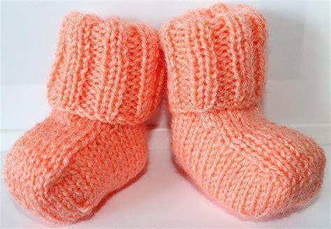 easy knit booties pattern sweet simple baby booties