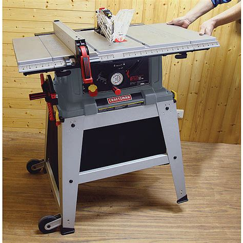 table saw with laser craftsman 218073 10 quot table saw with laser trac 174 21807