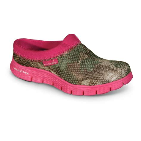 realtree shoes realtree s vannah slip on shoes pink