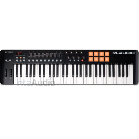 Keyboard M Audio m audio oxygen 61 mk4 usb midi controller keyboard