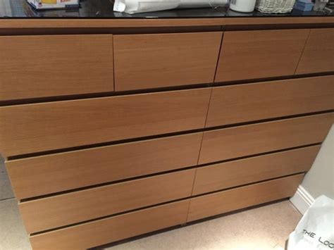 Malm Drawers For Sale by Malm 6 Drawer Units From For Sale In Stillorgan