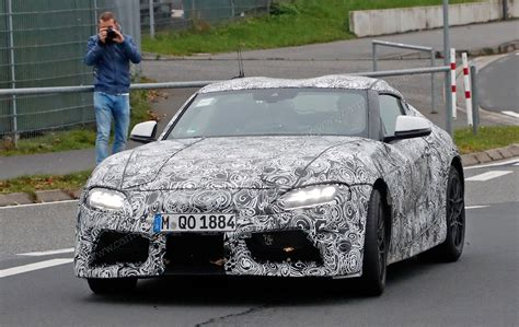 Supra New Model by New Toyota Supra Revealed Pictures Specs News Car