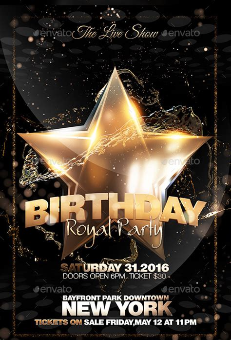 birthday flyer templates free free birthday flyer templates yourweek a88da1eca25e