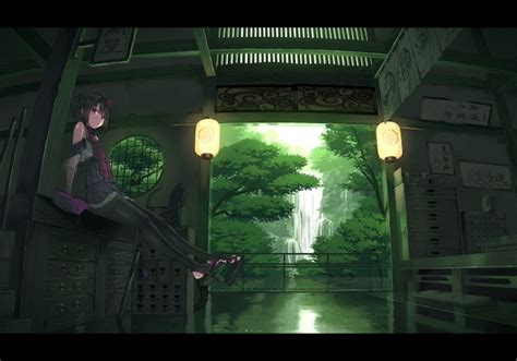 Aretta Set Black anime picture original garnet artist single blush