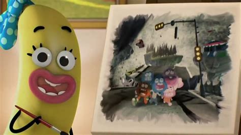 Mr Joe Barabara my theory on banana barbara s painting seen at the end of