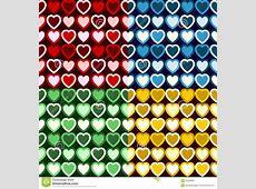 Retro Heart Pattern stock vector. Image of hearts, tones ... Yellow Hearts Wallpaper