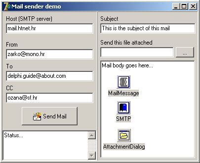 tutorial indy delphi sending emails with attachments using delphi indy