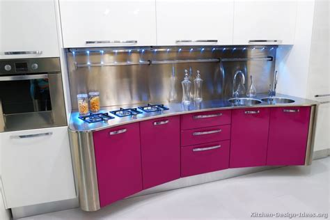 pink kitchen cabinets modern pink kitchens pictures cabinets decor designs