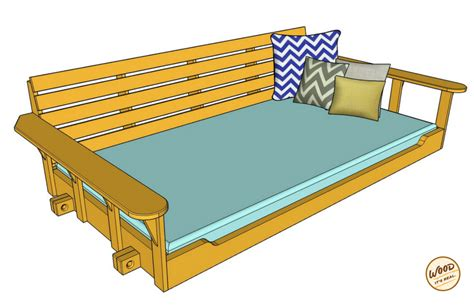 bed swing plans build a porch bed swing plans and video how to wood it