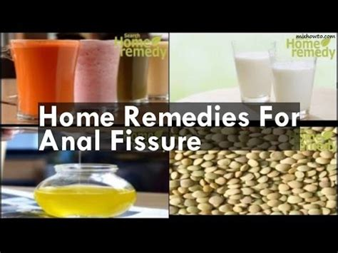 home remedies for fissure