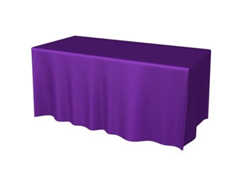 draped table trade show table covers 6ft 4 sided draped table throw