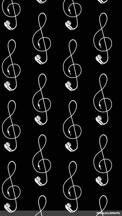 whatsapp themes tumblr iphone headphone treble clef whatsapp wallpaper music