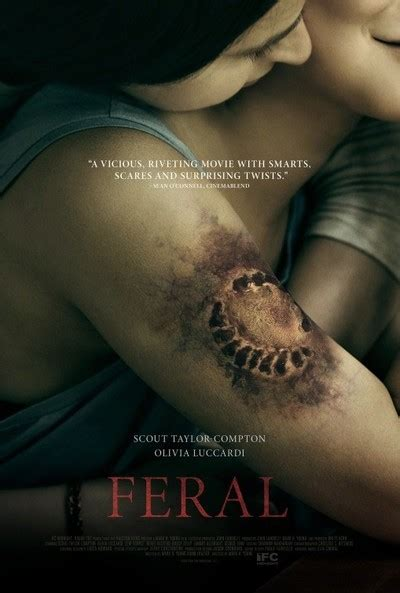 odile versois feet feral movie review film summary 2018 roger ebert