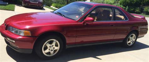 1992 acura legend 2 door ls coupe with 46 962 actual
